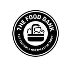 The Food Bank Logo Charity with Tami Benus Associates in Columbia MO Not For Profits Nonprofits