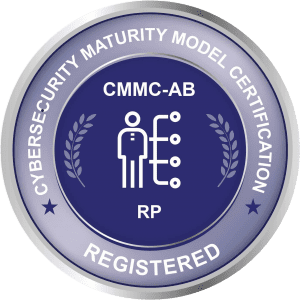 Cybersecurity Maturity Model Certification CMMC-AB RP Registered Badge Tami R Benus CPA Associates LLC Columbia Missouri Registered Practitioner